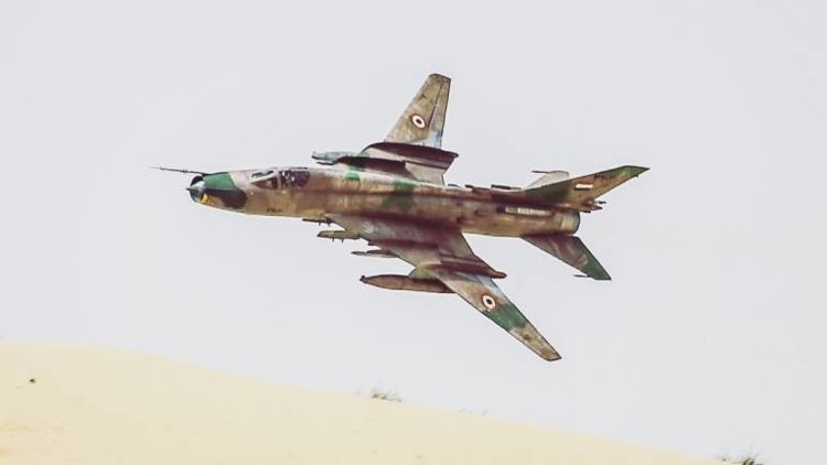 اسقاط طائرة مقاتلة سورية
