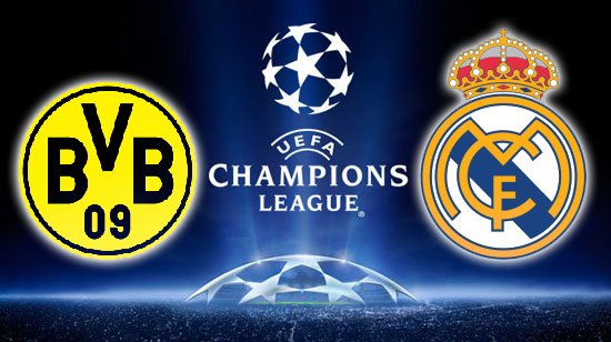 Borussia Dortmund vs Real Madrid UEFA